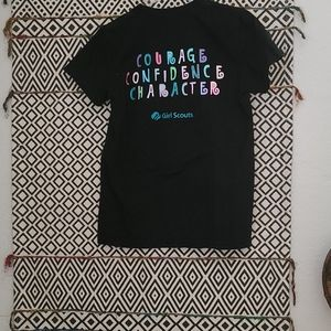 Girl Scouts Shirts & Tops - Black Tee For A Girl Scouts